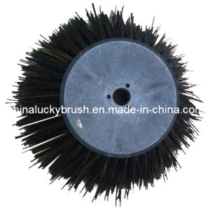 PP Material Black Round Road Brush (YY-017) pictures & photos