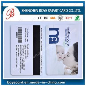 Custom Wholesale Full Color Cmyk Printing Magnetic Stripe Card pictures & photos