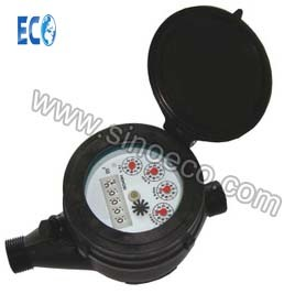Multi Jet Dry Type Plastic Water Meter Class B / Class C pictures & photos