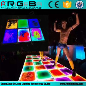 Guangzhou New Decor Light up Liquid RGB 3in1 Full Colors Dance Floor for Stage Platform, Portable LED Color Change Liquid Floors pictures & photos