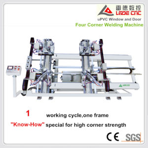 Windows Making Machine UPVC Window Four Corner Welding Machine CNC Control