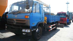 LHD/Rhd Truck with Small Lift Carry Cranes (XZJ5110JSQD) pictures & photos