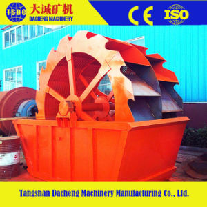 High Efficiency Wheel Bucket Type Sand Washer pictures & photos