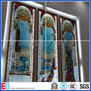 China new type stained glass decorative glass colored for Decorative window glass types