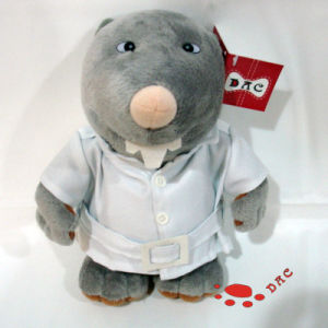 Plush Cartoon Mascot Mouse