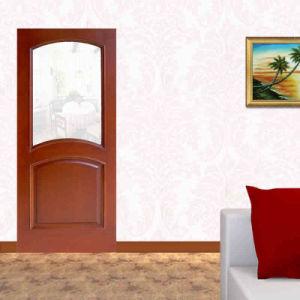 Ritz Eastern European Interior Wooden Door with Glass, Glass Wood Doors pictures & photos