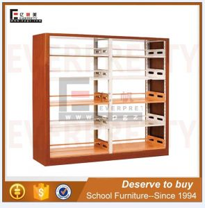 China Library Furniture School Library Wood and Metal Bookshelf (SF-10B) pictures & photos