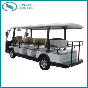 CE Electric Car Sightseeing Car 14 Seats with Gearbox and Power-Assisted Steering (LQY145BN)
