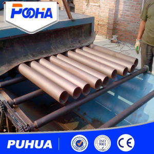 Large Steel Pipe Outer Surface Shot Blasting Equipment pictures & photos