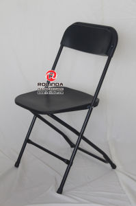Steel-Plastic Foding Chair for Outdoor Activity pictures & photos