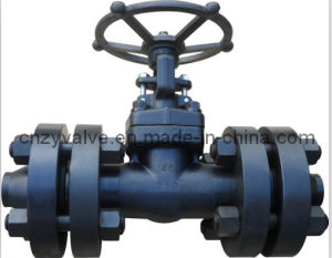High Pressure Forged Steel Gate Valve Hand Operated pictures & photos