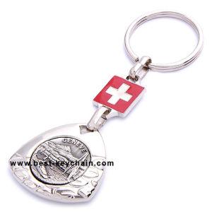 Custom Promotion Souvenir Logo Gift Metal Key Ring (BK11637) pictures & photos