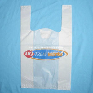 Plastic Market Printing Vest Shopping Bag pictures & photos