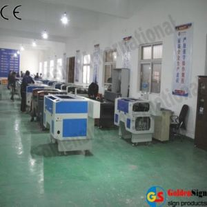 Goldensign Laser Cloth Cutting Machine (GS9060) pictures & photos