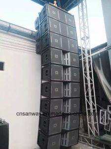Vt4889 Dual 15 Inch Outdoor Line Array System, High Output PRO Line Array Audio Speaker pictures & photos