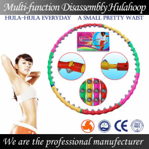 High Intensity Massage Hula Hoop-Disassembly and Weight Increease (BY-003)