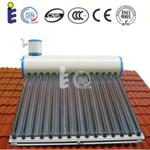 Cetified Non-Pressure Vacuum Tube Solar Water Heater