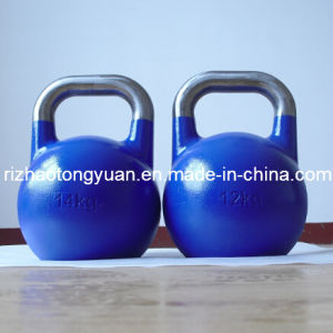 Blue Color Precision Competition Kettlebell pictures & photos