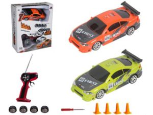 1: 24 Scale Four Functions Toy RC Drift Car for Kids pictures & photos