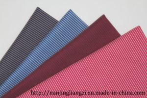 Yarn Dyed Cotton Nylon with Spandex Stripes Fabric pictures & photos