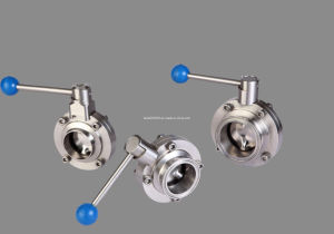 Df Sanitary Butterfly Valve (IFEC-BV100001) pictures & photos