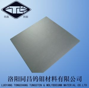 Tungsten Sheet and Plate in Washed Surface pictures & photos