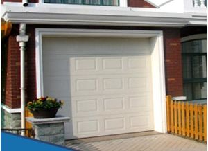 Automatic Metal Sectional Garage Door pictures & photos