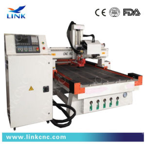 Economic Woodworking CNC Router with Round Tool Changer