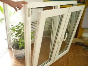Thermally Broken Aluminum Tilt and Turn Windows pictures & photos