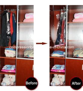Supply Transparent Hanger Vacuum Storage Bag pictures & photos