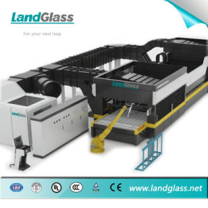 Landglass Double Chamber Flat Glass Toughening Machine pictures & photos