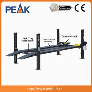 Four Post Car Lift/Home Garage Car Lift/Hydraulic Car Lift for Garage (408-P) pictures & photos
