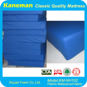 Waterproof Foam Mattress for Nursing Home, Prison, Hospital (KM-NH102) pictures & photos