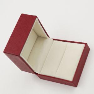 Promotion Gift Handmade Velvet Ring Box (J37-A2) pictures & photos
