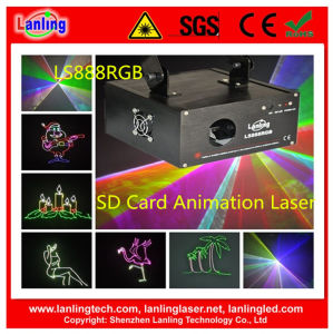 230MW RGB Animation Stage Laser Show with SD Card pictures & photos