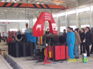Multi-Angle Plastic Pipe Band Saw (SJC800) pictures & photos
