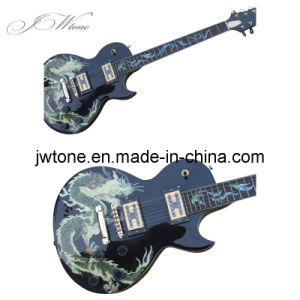 Abalone Inlay Body Top Quality Electric Guitar pictures & photos