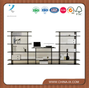 Customized 9′ Wide Free Standing Shop Display Shelf pictures & photos