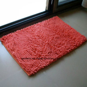 High Quality Living Room Microfiber Polyester Shaggy Handmade Rug pictures & photos