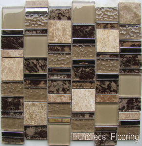 Mosaic Wall Tile/Glass Tile/Crystal Glass Mosaic (HGM369) pictures & photos
