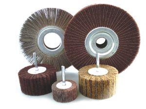 Non-Woven Cloth Flap Wheel 40*40*6mm