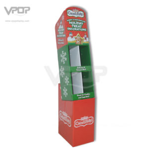 Holiday Paper POS / Pop Free Standing Floor Stand with Pockets pictures & photos