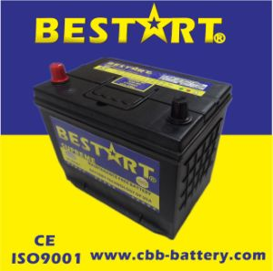 12V50ah Premium Quality Bestart Mf Vehicle Battery JIS 48d26r-Mf pictures & photos