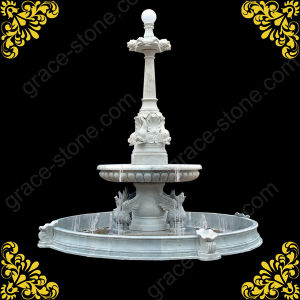 Natural Marble Garden Decorated Fountain pictures & photos