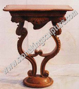 Top Quality Marble Dining Table for Home (SK-1946) pictures & photos
