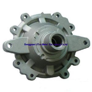 Hardware Aluminum Alloy Metal Die Casting Parts of Pulley pictures & photos