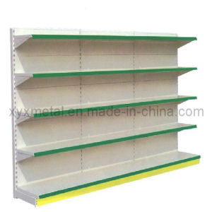 Double Sides Supermarket Shelf with 4 Layers pictures & photos