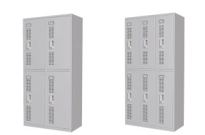 Metal Storage Lockers with Louver Doors pictures & photos