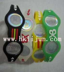 Silicone Bracelet, Wristband Custom, Rubber Wristbands, Balance of Power Band