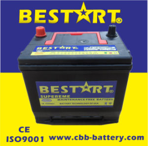 Top Quality 60ah 12V SMF Car Battery 55D23r-Mf pictures & photos